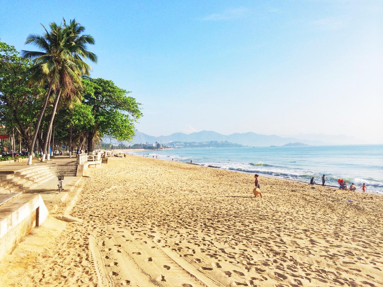 Путешествие по Вьетнаму, Нячанг: Пляж