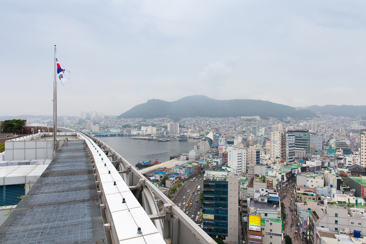 Путешествие по Южной Корее, Пусан: портовый район Пусана