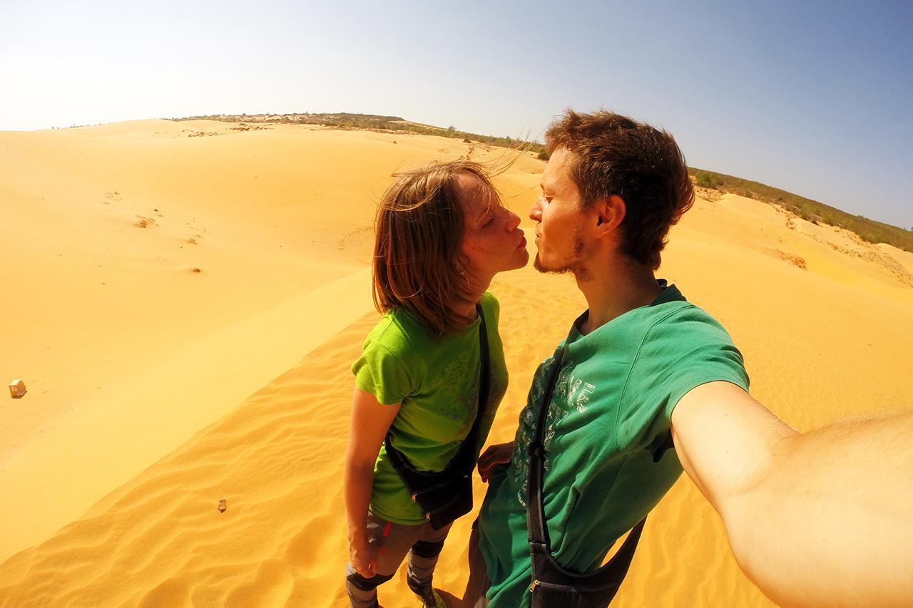 Путешествие по Вьетнаму, Муйне: мы на дюнах