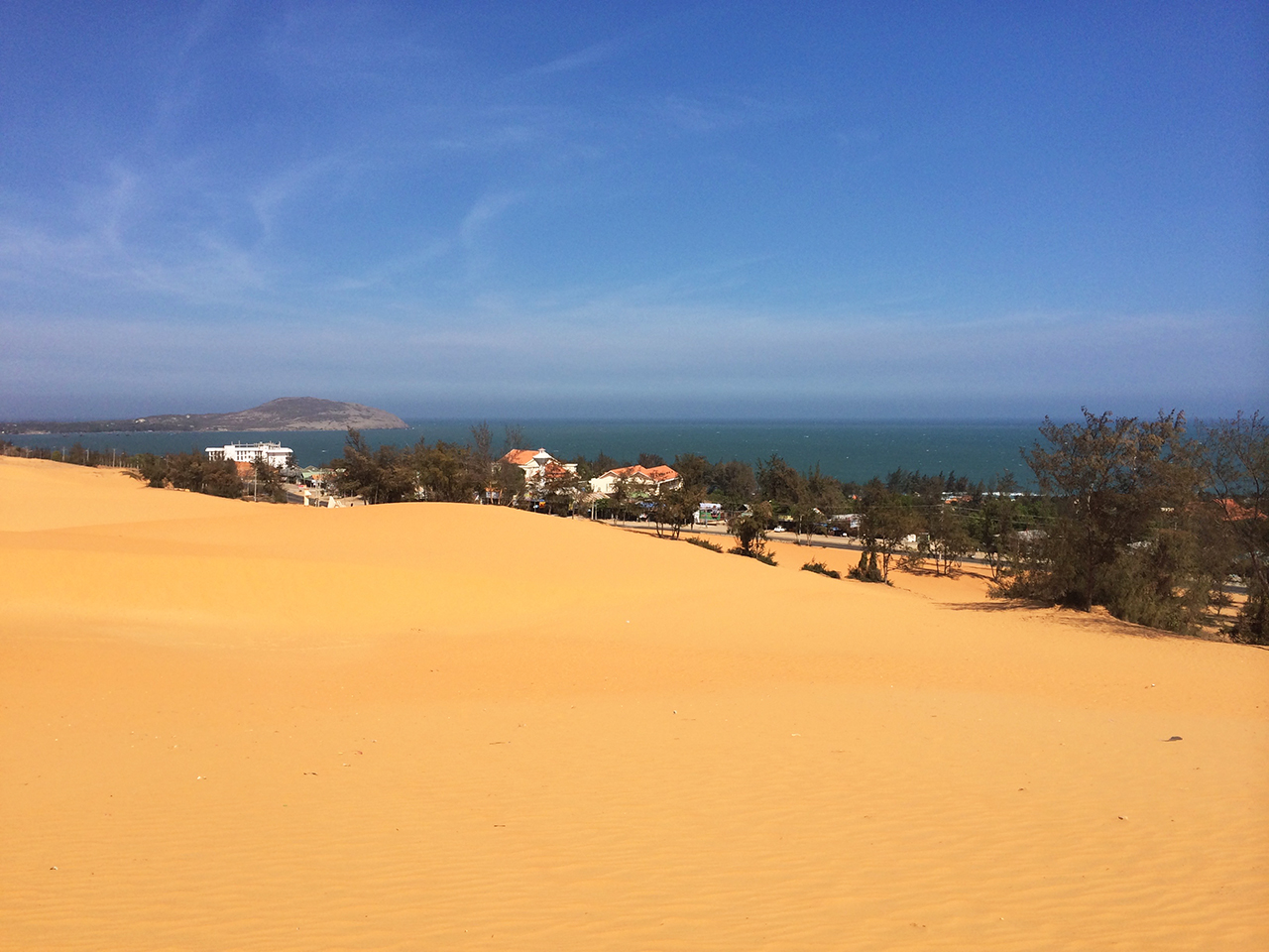 Путешествие по Вьетнаму, Муйне: песчаные дюны