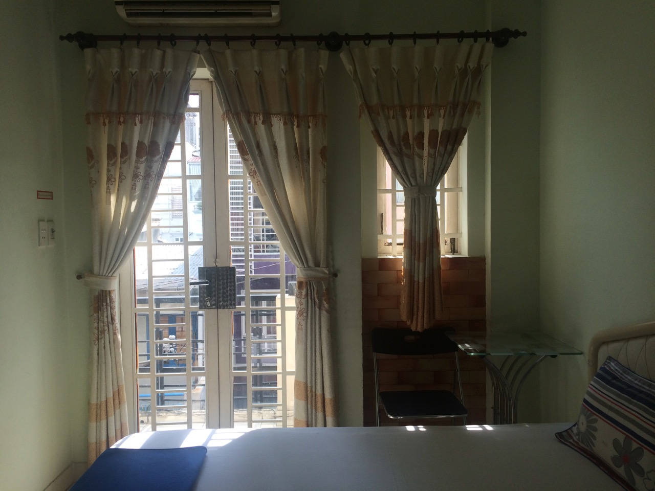 Путешествие по Вьетнаму, Хошимин: Комната во втором доме, где мы остановились