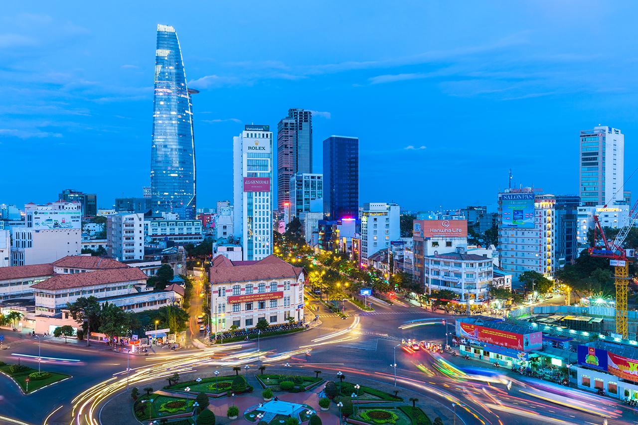 Путешествие по Вьетнаму, Хошимин: Центральный район номер 1