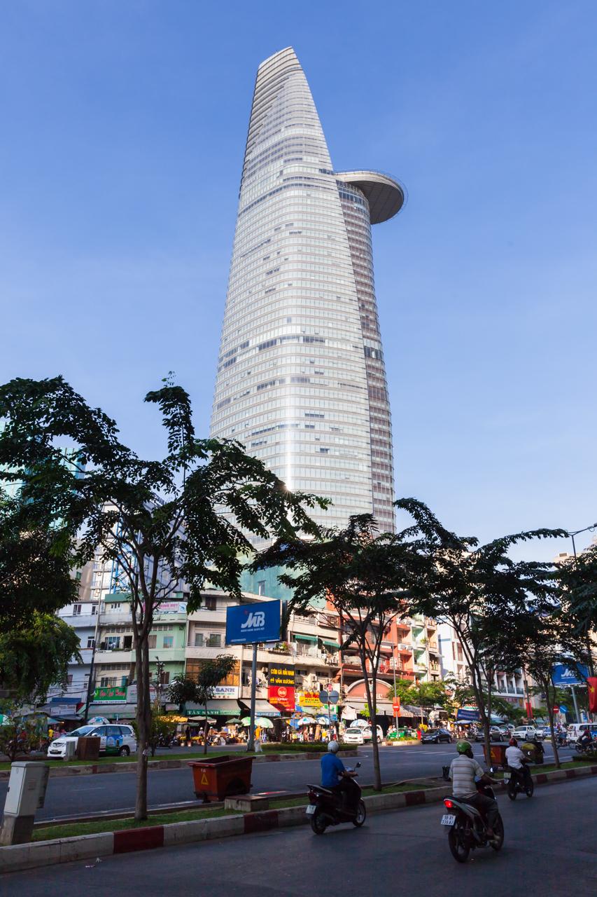 Достопримечательности Хошимина, Вьетнам: Финансовая башня Bitexco