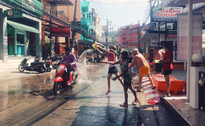 Как мы отпраздновали тайский Новый год на Пхукете
