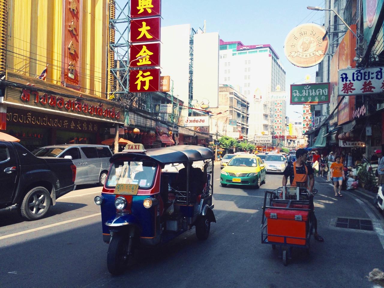 Путешествие по Таиланду, Бангкок: Чайнатаун