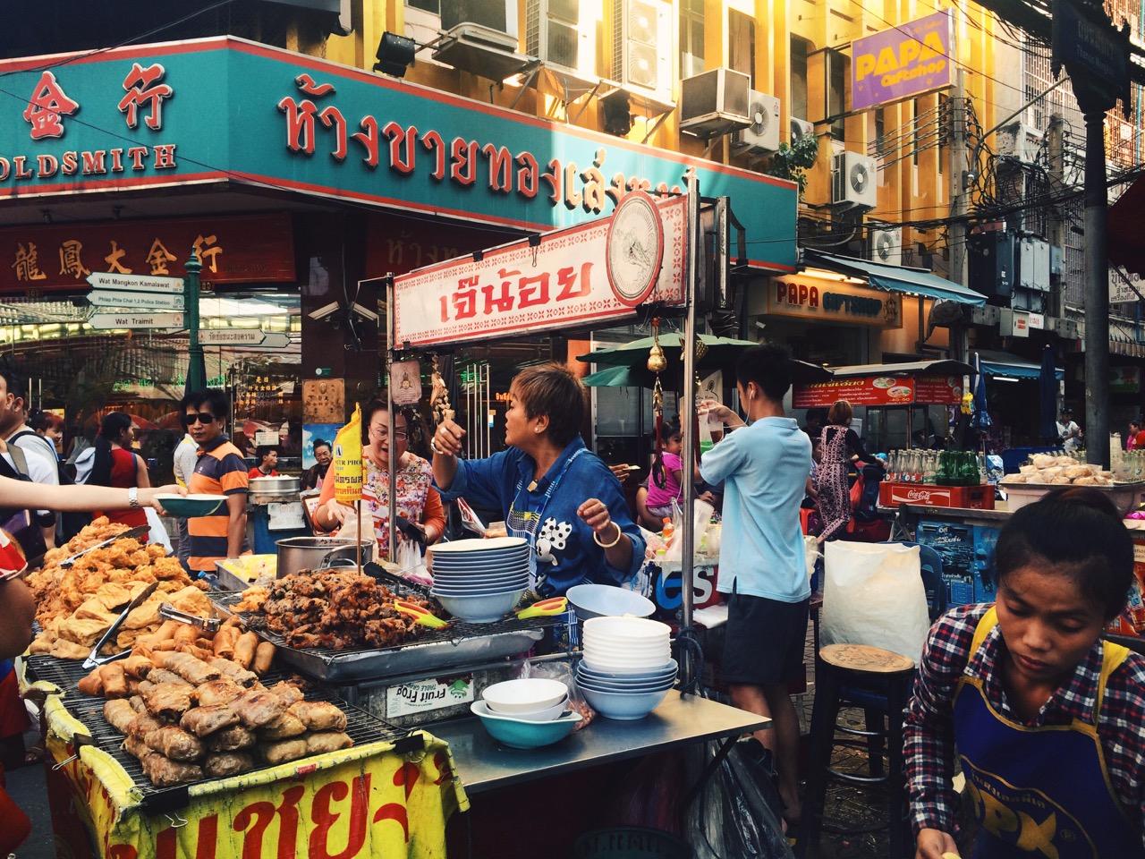 Путешествие по Таиланду, Бангкок: Толкучка в Чайнатауне