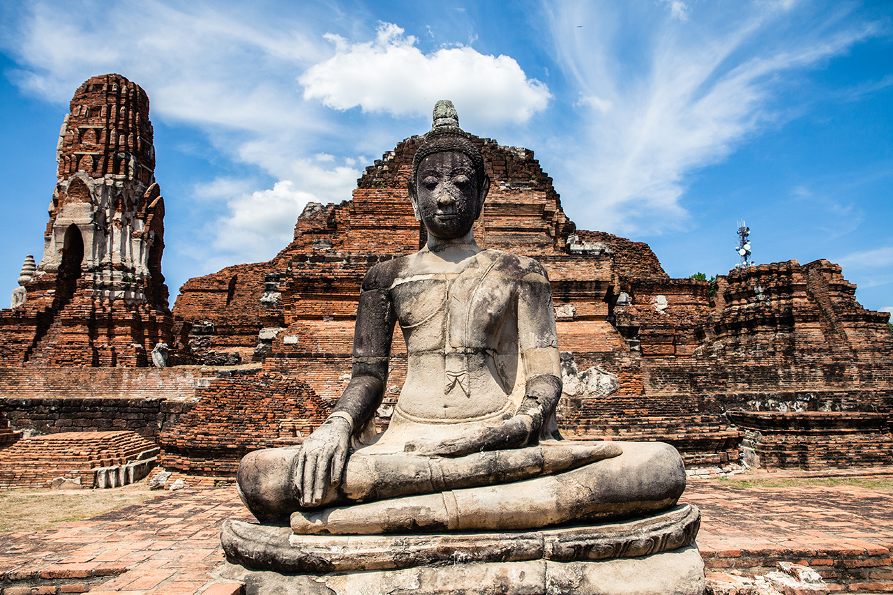 Путешествие по Таиланду, Аюттхая: Ват Махатхат