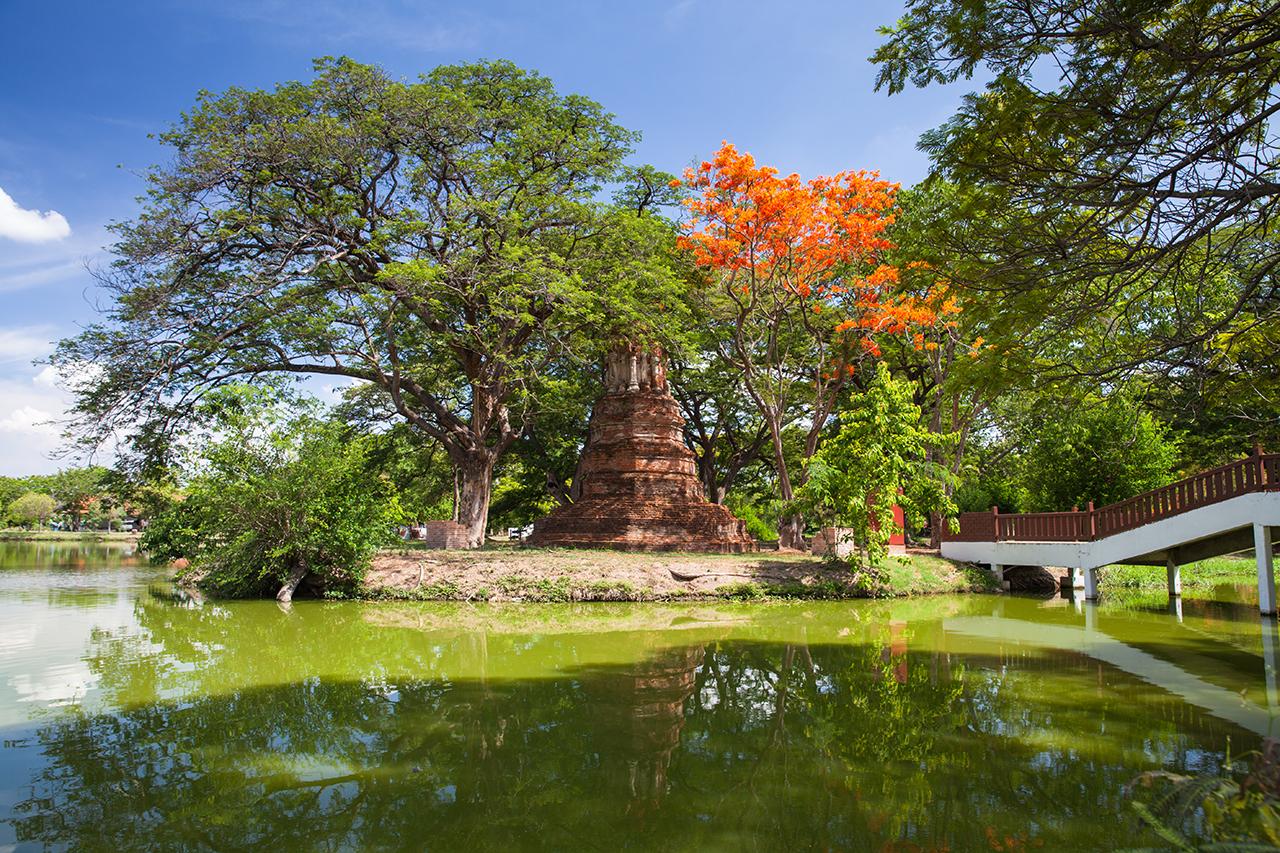 Путешествие по Таиланду, Аюттхая: Исторический парк