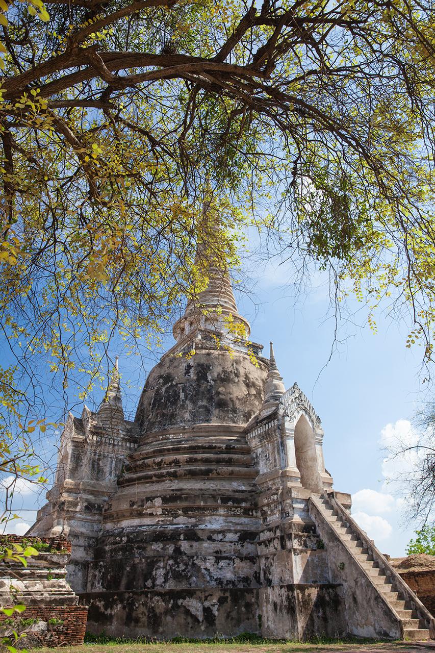 Путешествие по Таиланду, Аюттхая: Ват Пхра Си Санпхет