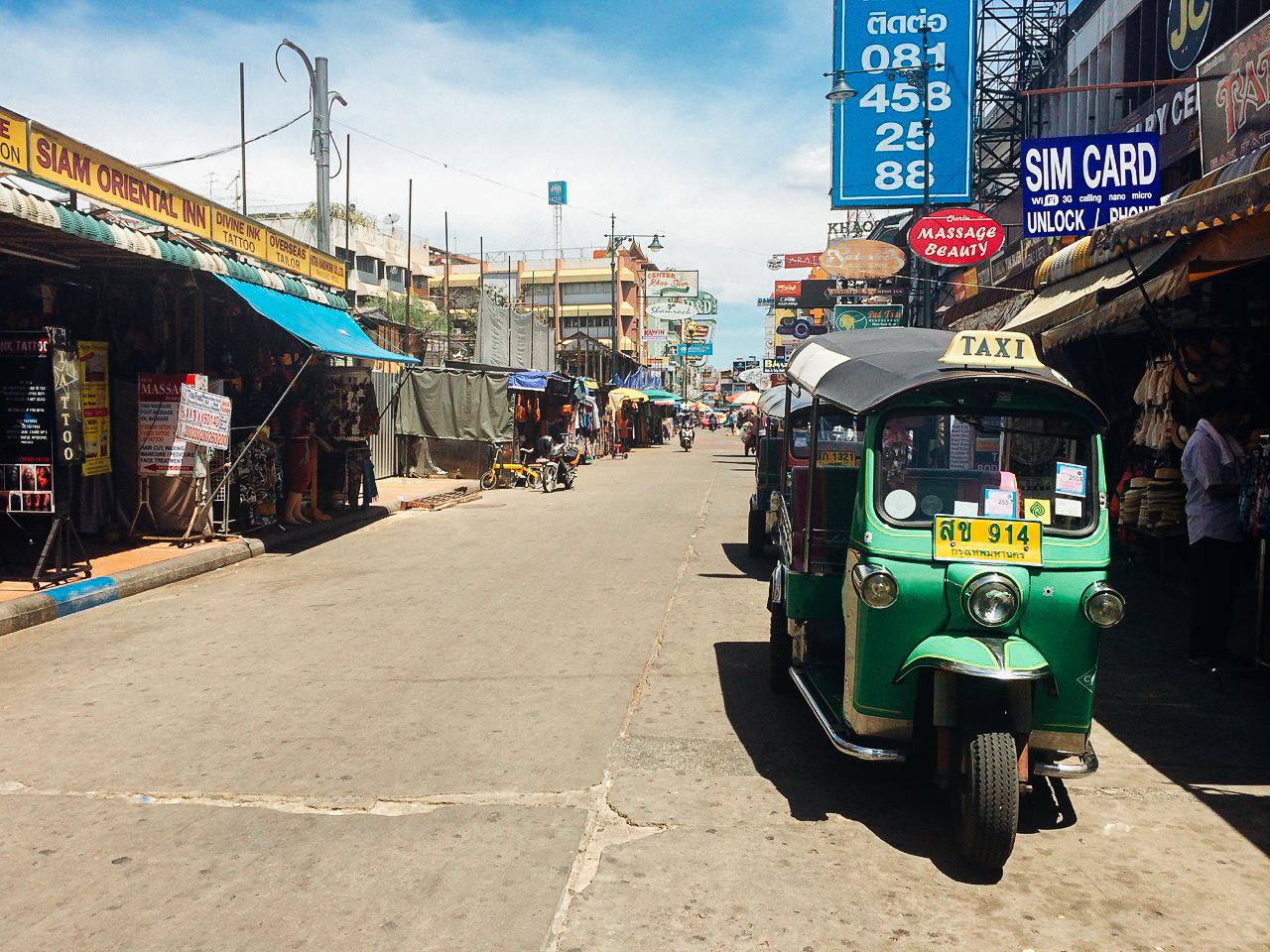 Путешествие по Таиланду, Бангкок: Улица Каосан