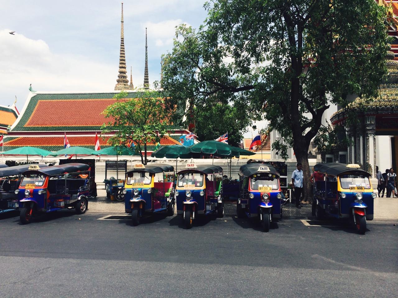 Путешествие по Таиланду, Бангкок: Тук-туки