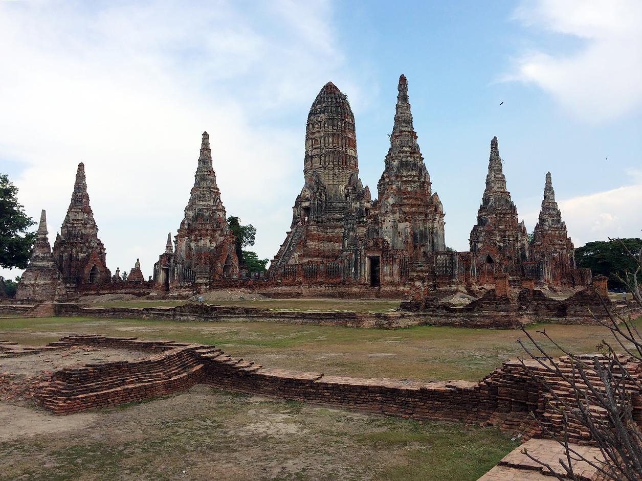 Путешествие по Таиланду, Аюттхая: Ват Чайваттханарам