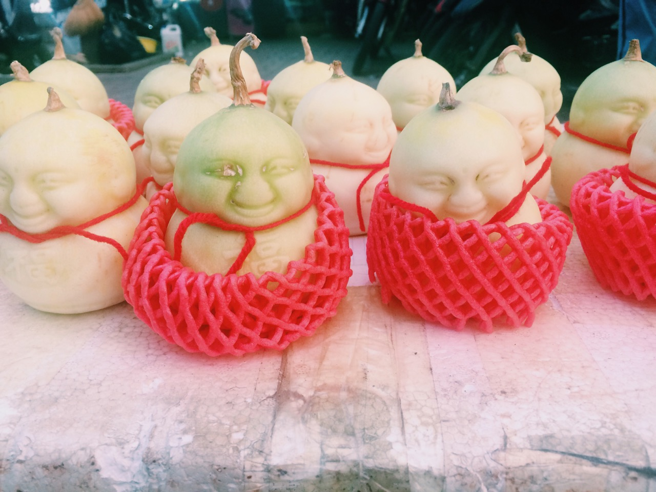 Вьетнамский Новый год: Формованные дыни