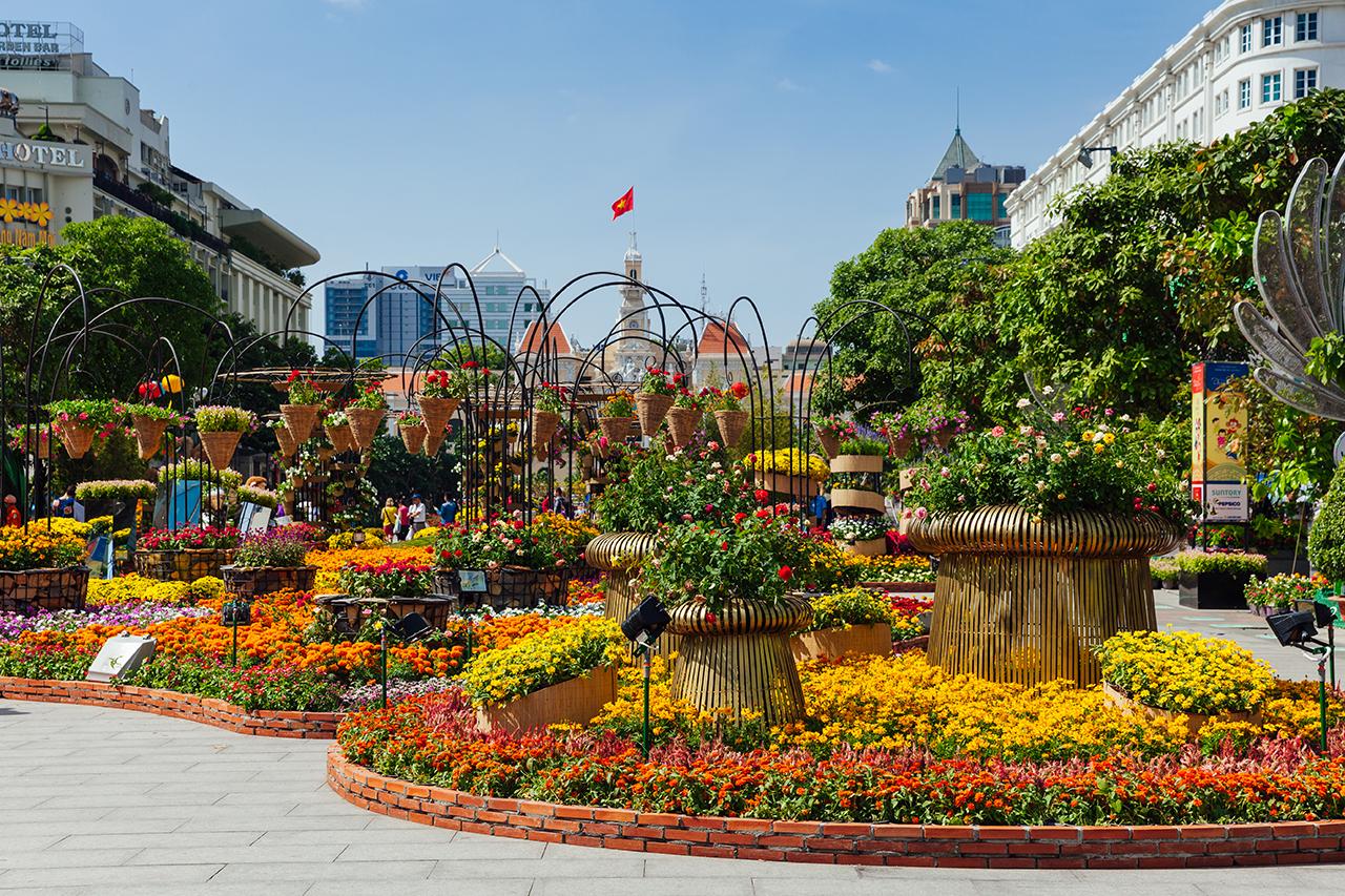 Вьетнамский Новый год: Цветочный фестиваль в Хошимине