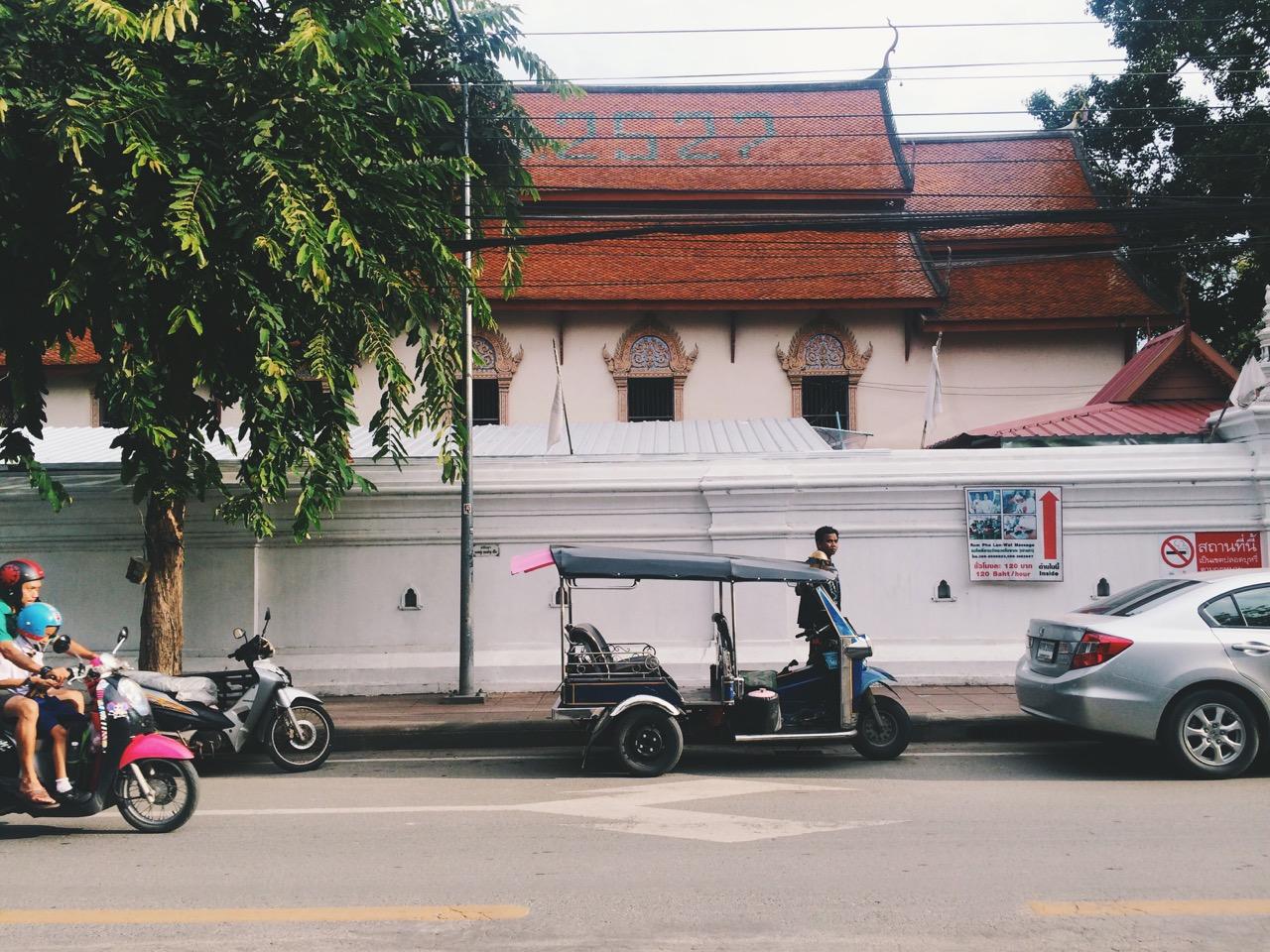 Путешествие по Таиланду, Чиангмай: Храм (Wat Si Koet)