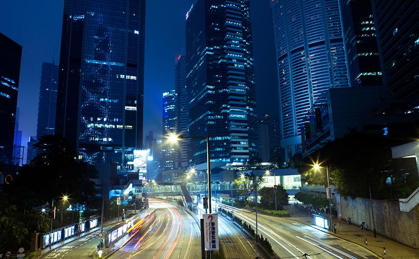 Азиатский дракон, остров Гонконг.