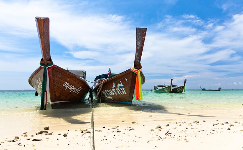 Вдохновляющее видео о поездке на остров Липе, Таиланд.