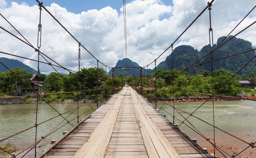 Путешествие по Лаосу. Часть 2: Ванг Вьенг.