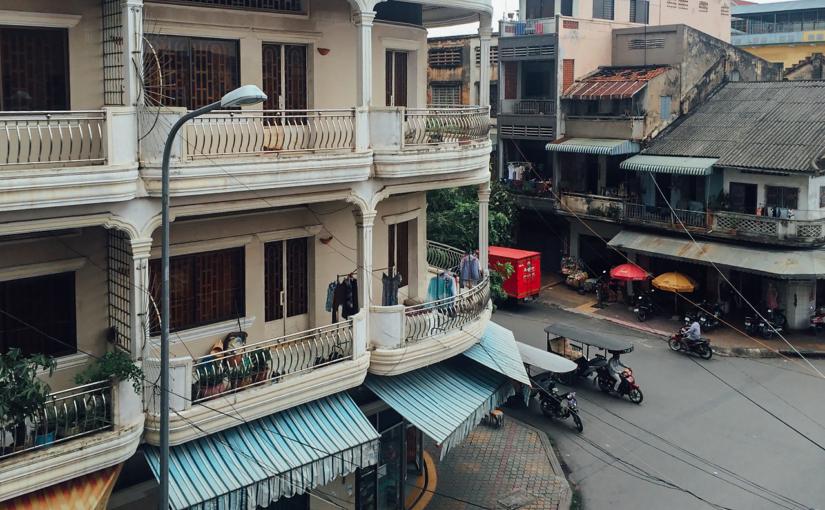 Путешествие по Камбодже. Пномпень.