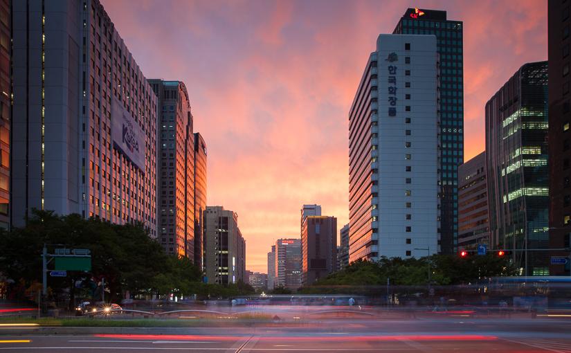 Путешествие по Южной Корее. Сеул.