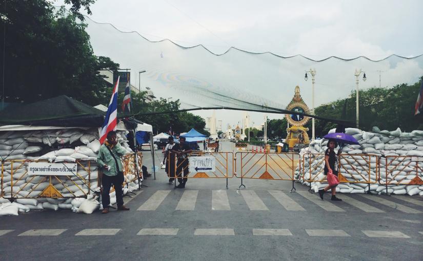 Как мы оказались в Бангкоке во время военного переворота. Таиланд.