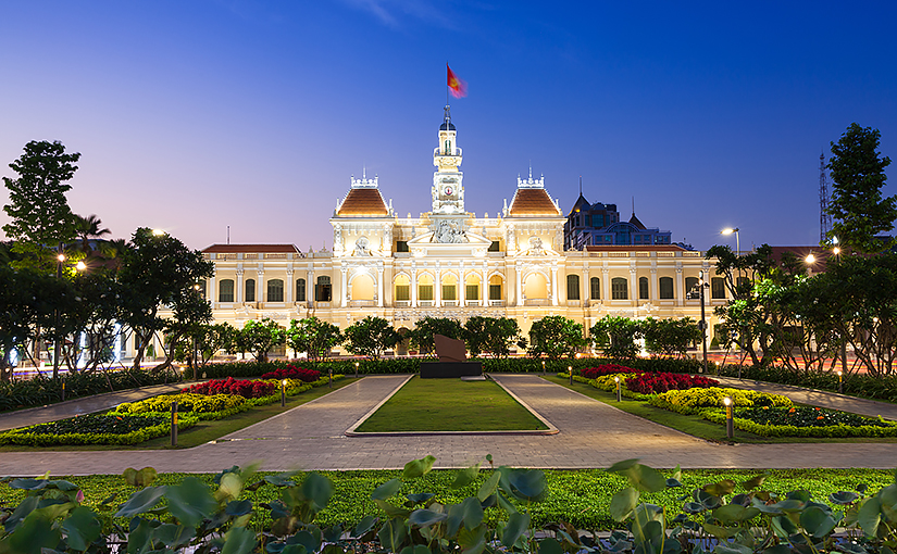Достопримечательности Хошимина, Вьетнам.
