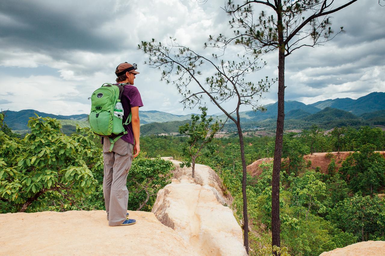 Путешествие по Таиланду, Пай: Пайский каньон (Kong Lan)