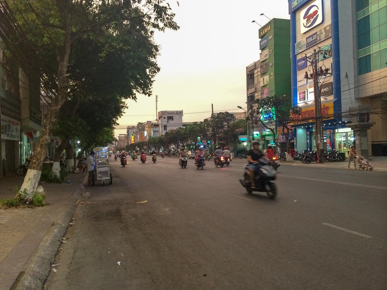 Путешествие по Вьетнаму, Кантхо: Улицы Кантхо