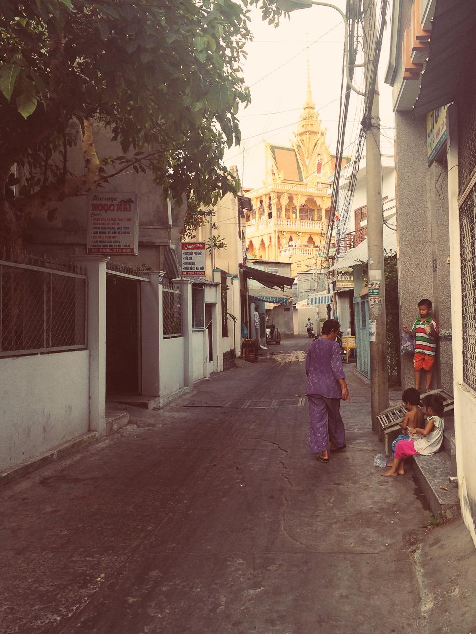 Путешествие по Вьетнаму, Кантхо: Колоритные переулки