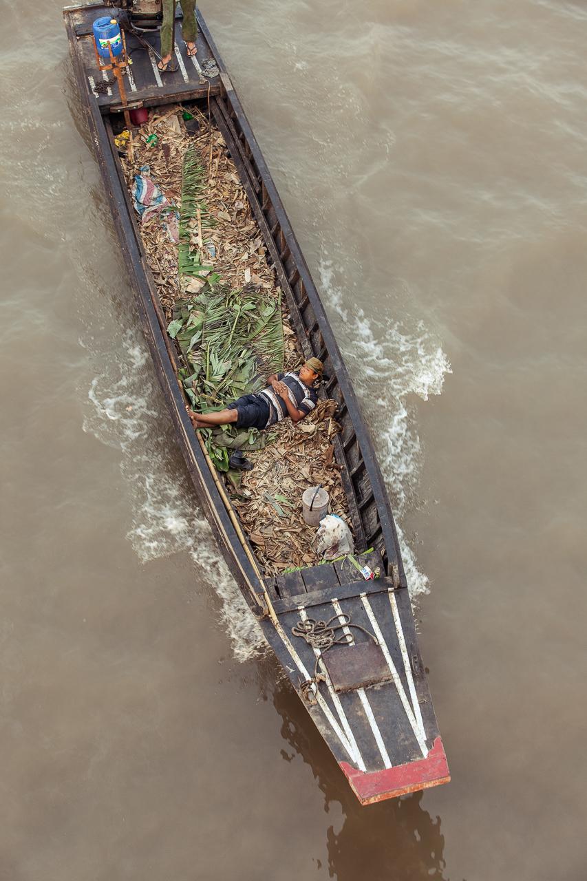 Путешествие по Вьетнаму, Кантхо: Плавучий рынок Кай Ранг