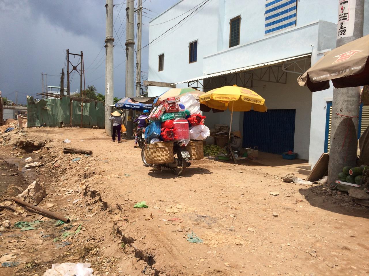 Путешествие по Вьетнаму, Фукуок: Местами приходилось пробираться через такое месиво