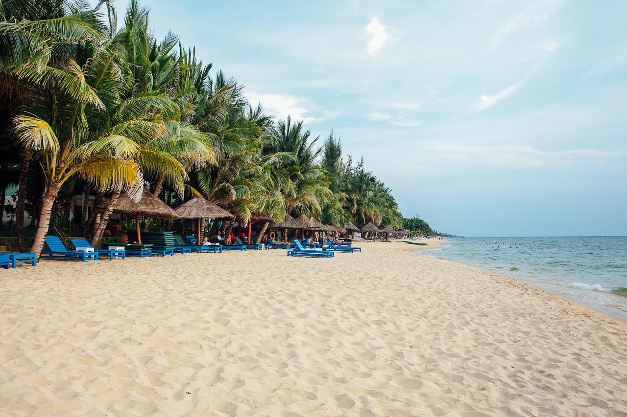 Путешествие по Вьетнаму, Фукуок: Пляж в Зыонгдонге