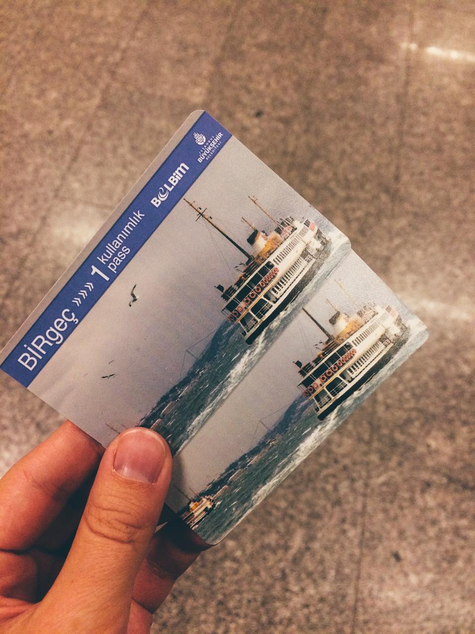 Стоповер в Стамбуле. День 1: Билеты на метро и трамвай