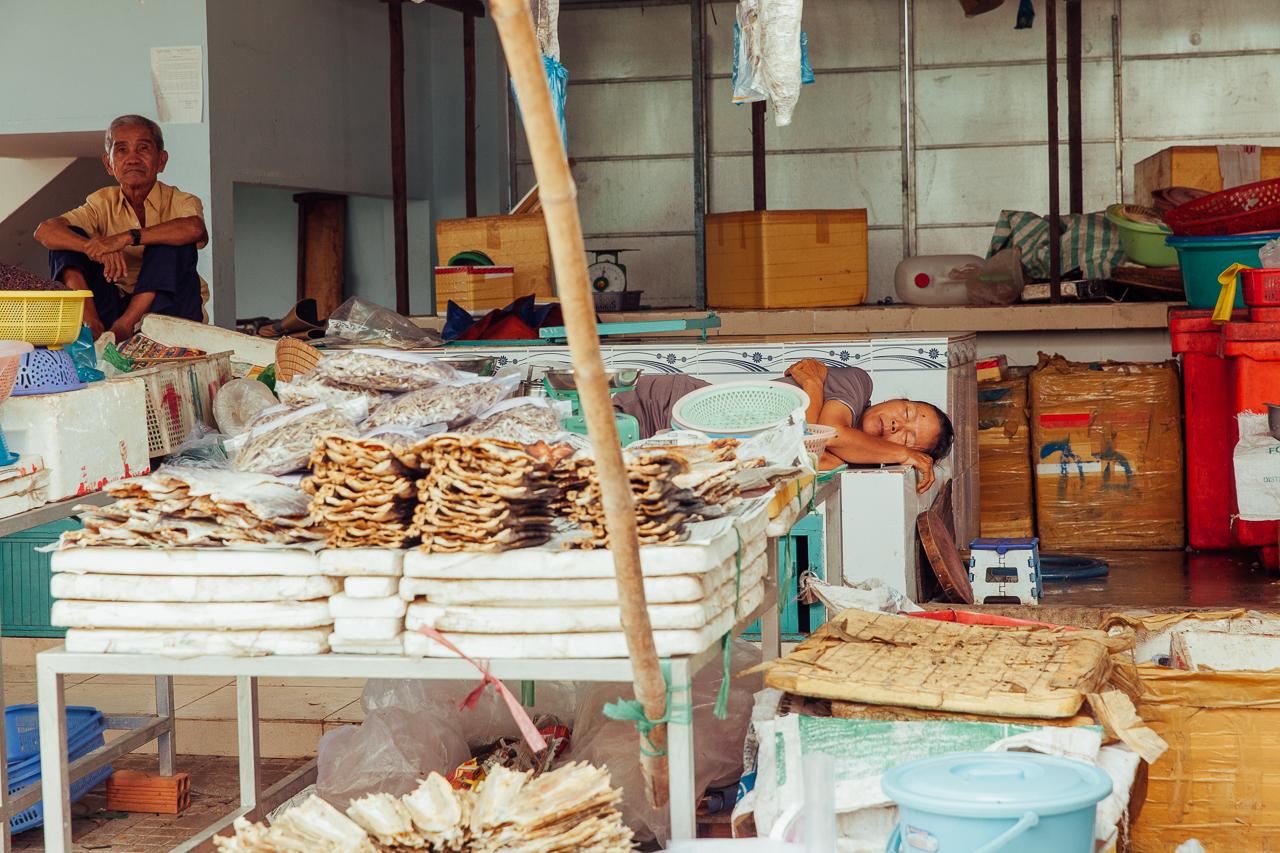 Путешествие по Вьетнаму, Фукуок: Жизнь на рынке