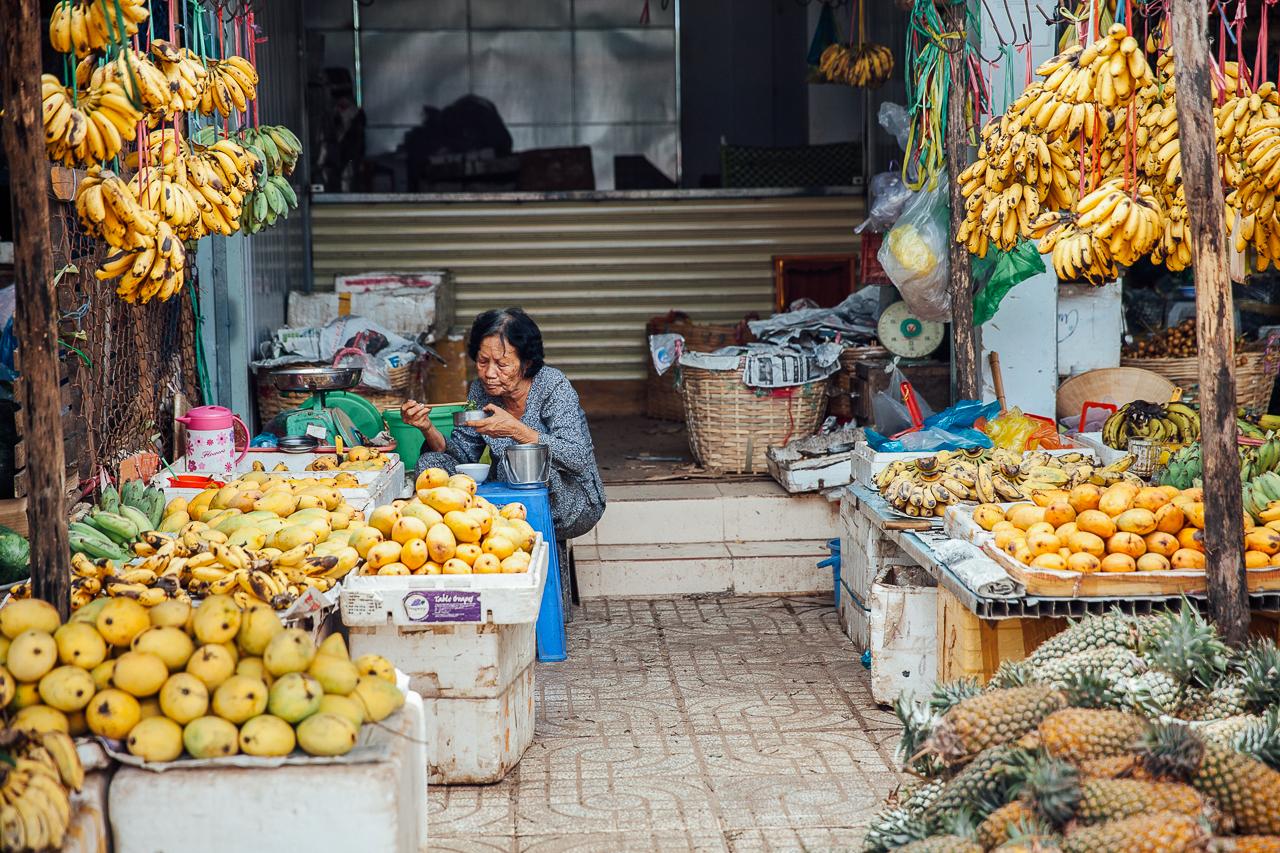 Путешествие по Вьетнаму, Фукуок: Рынок