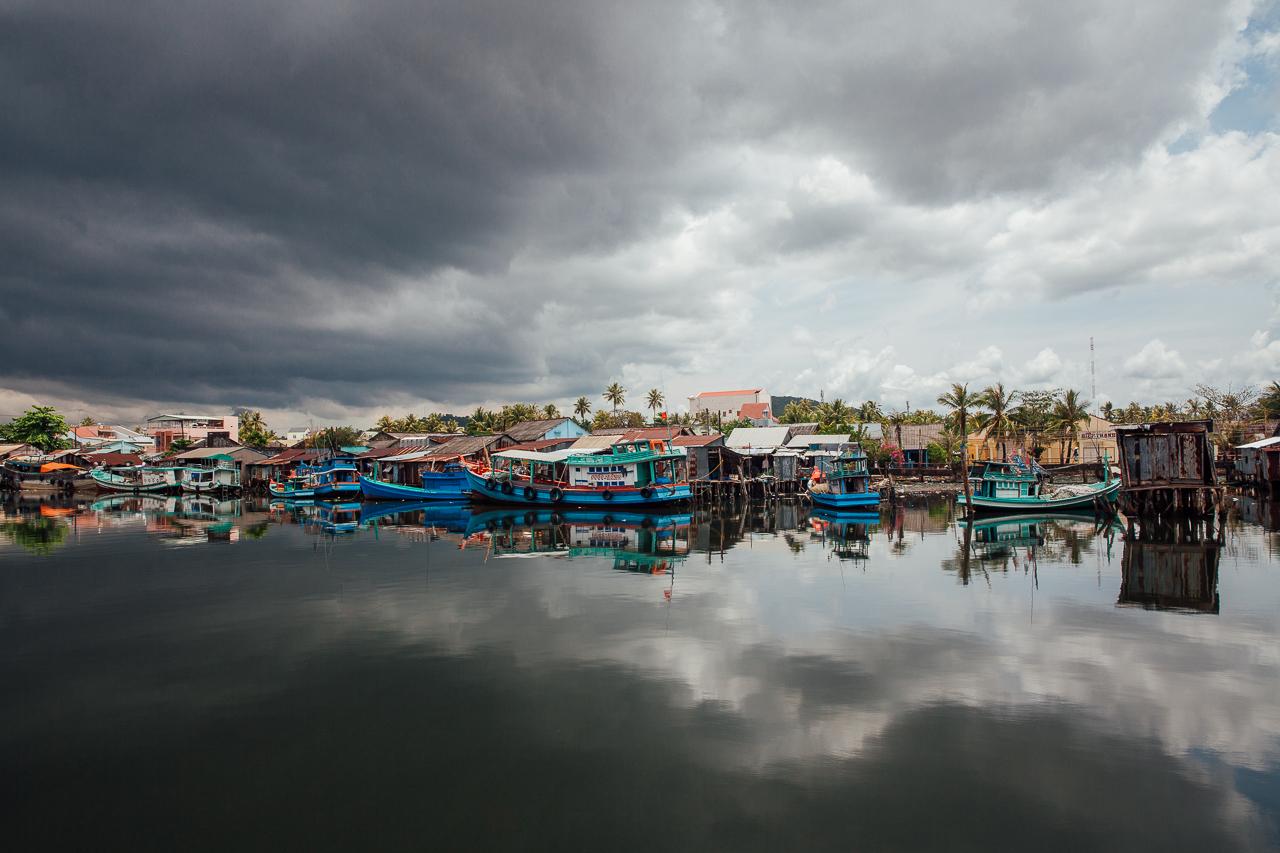 Путешествие по Вьетнаму, Фукуок: Рыбацкий порт