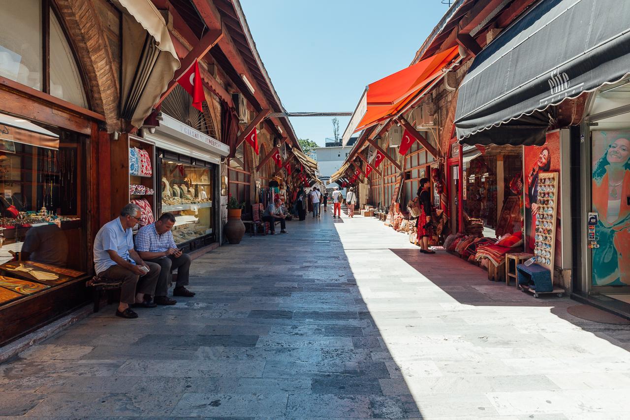 Стоповер в Стамбуле. День 2: Араста Базар