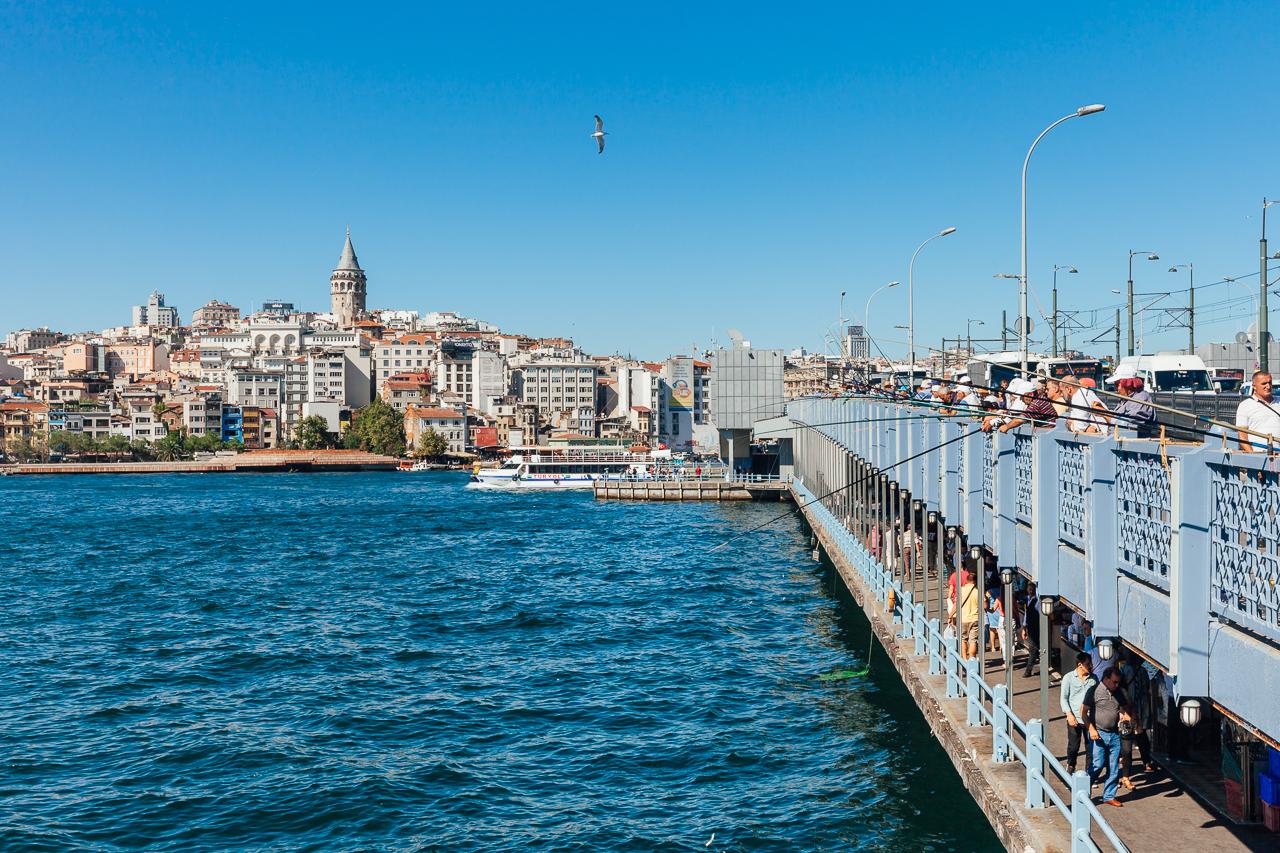 Стоповер в Стамбуле. День 2: Галатский мост