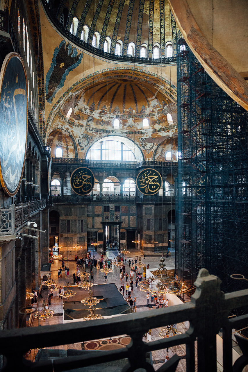 Стоповер в Стамбуле. День 2: Собор Святой Софии внутри