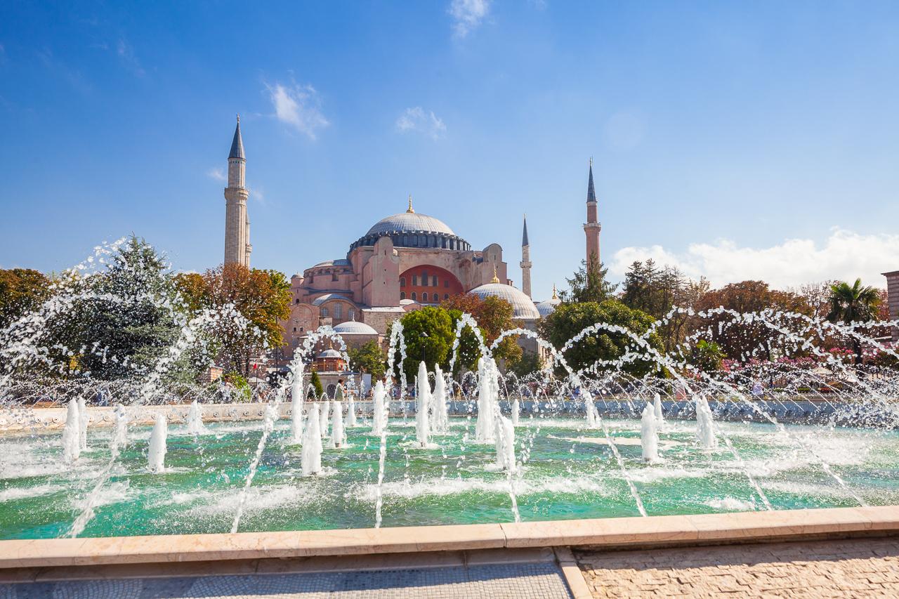 Стоповер в Стамбуле. День 2: Айя-София