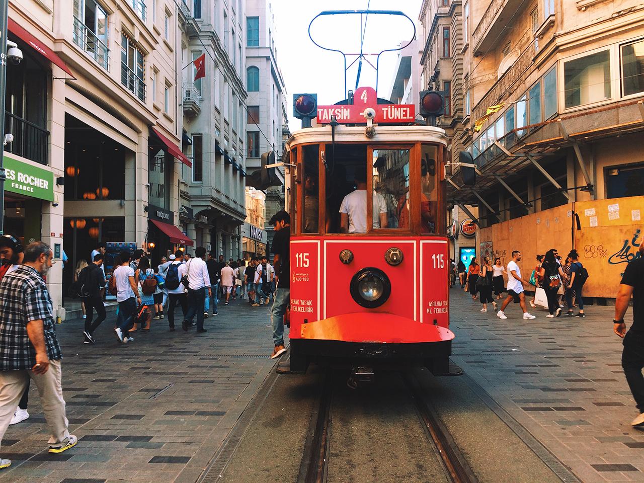Стоповер в Стамбуле. День 2: улица Истикляль