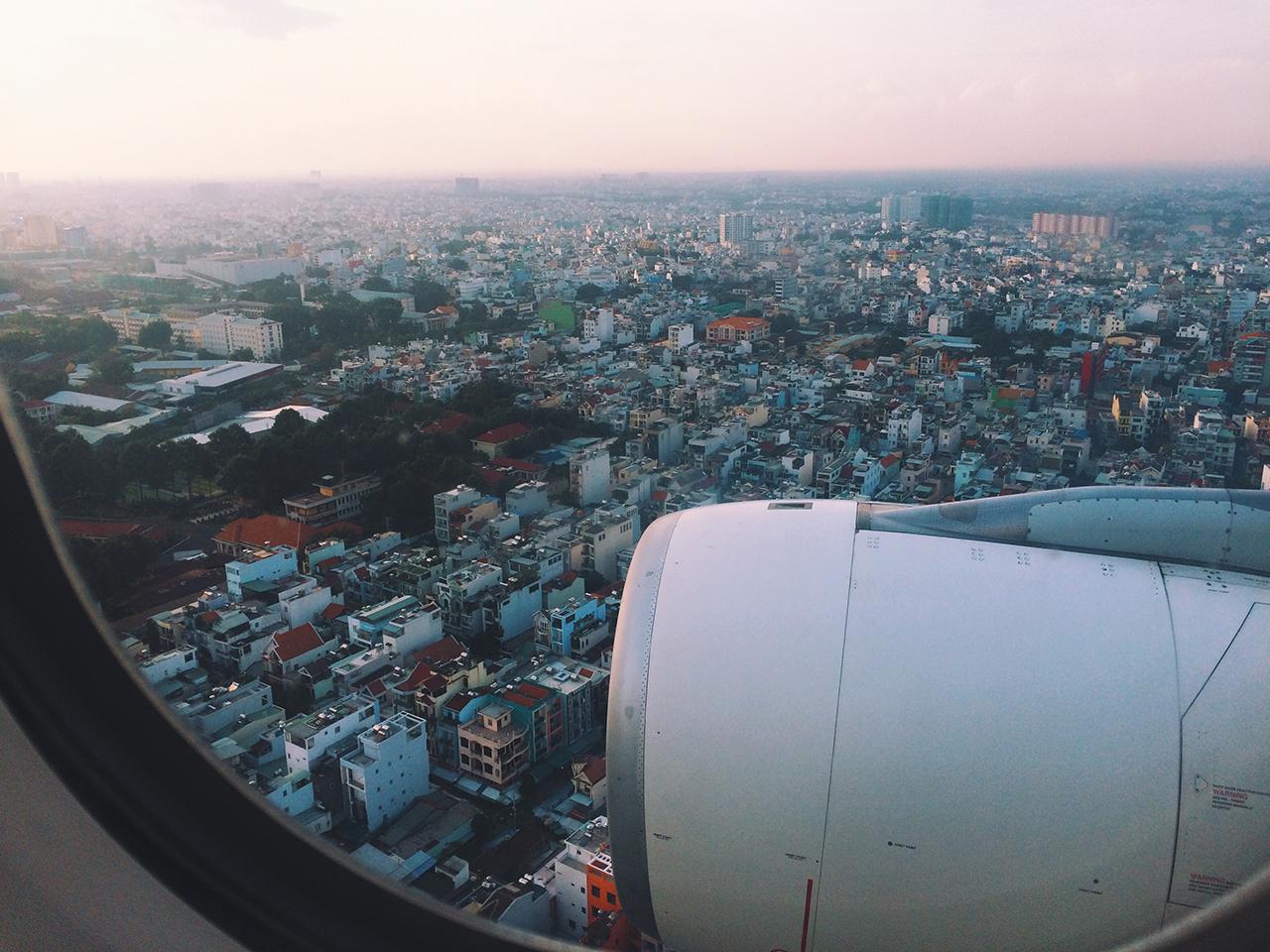 Как оформить визу во Вьетнам: Посадка в аэропорте Хошимина