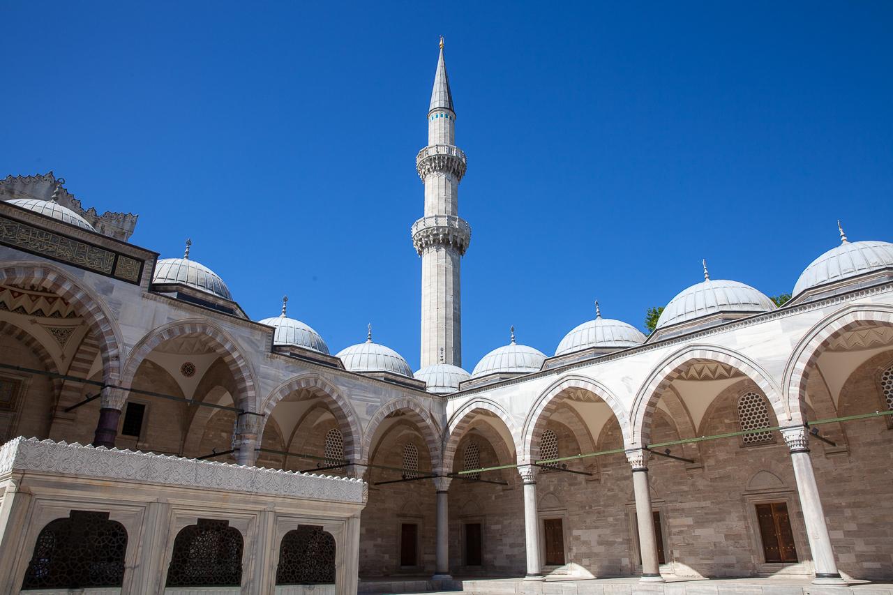 Стоповер в Стамбуле. День 2: Мечеть Сулеймание