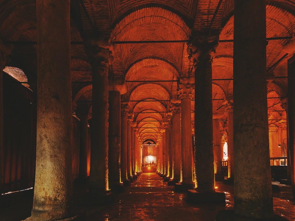 Стоповер в Стамбуле. День 3: Цистерна Базилика