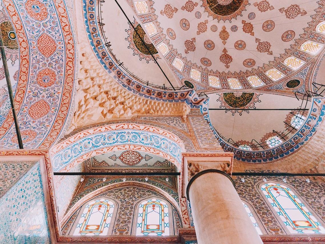 Стоповер в Стамбуле. День 3: Голубая мечеть