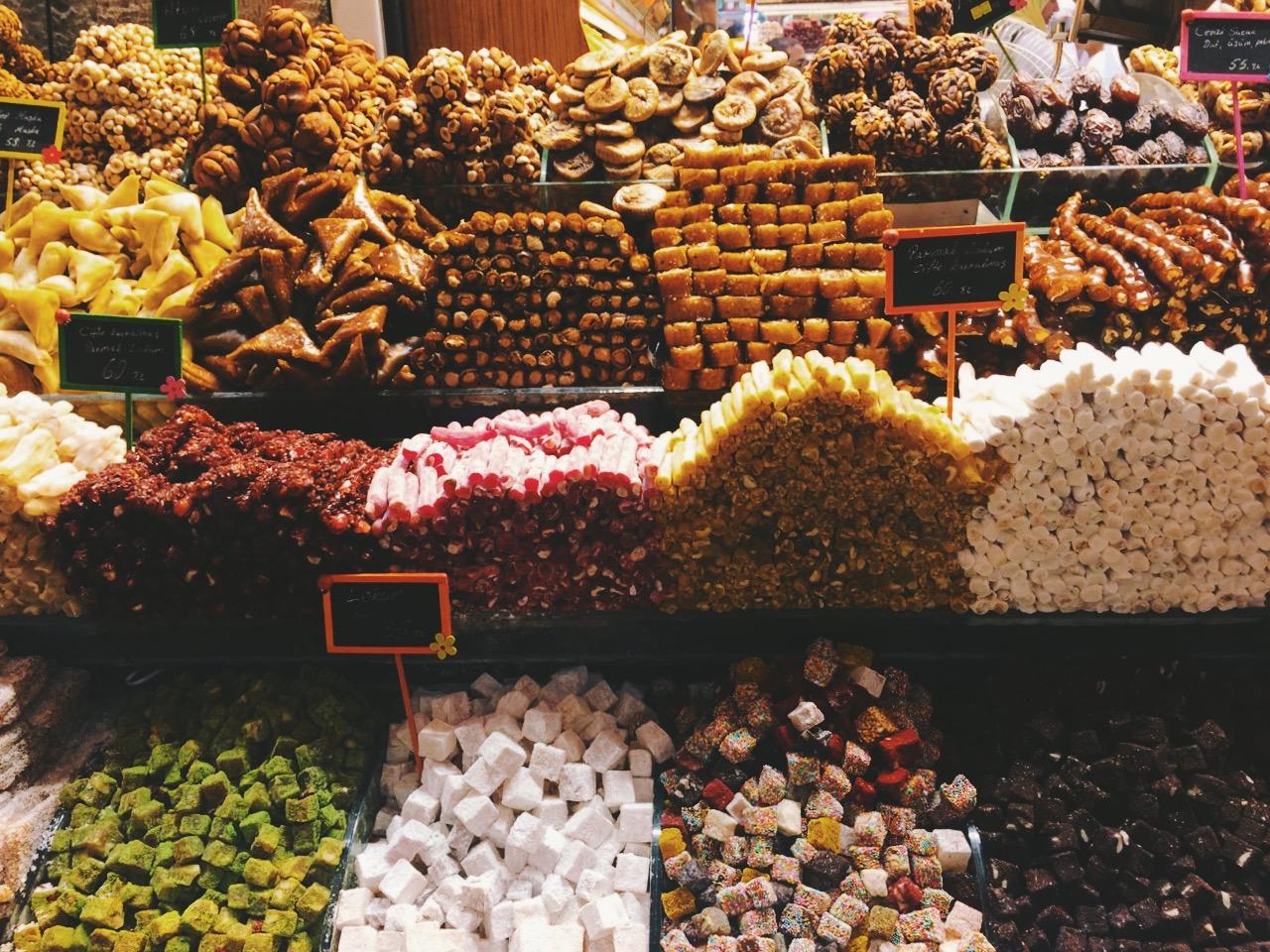 Стоповер в Стамбуле. День 3: Египетский базар