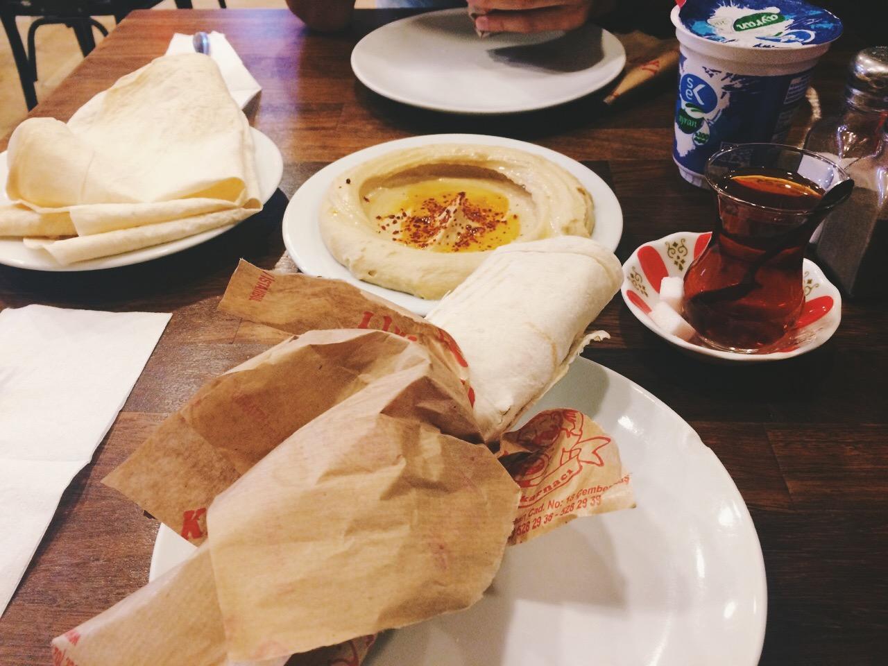 Стоповер в Стамбуле. День 3: Фалафель и хумус