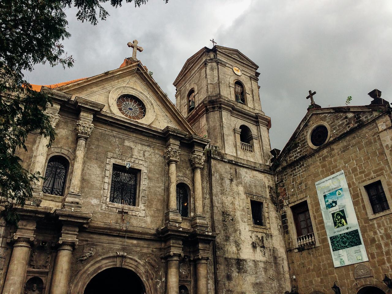 Путешествие по Филиппинам, Манила: Церковь Святого Августина, Интрамурос